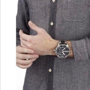 Men sexy Diesel wristwatch